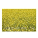 Field of Mustard Postcards (Pack of 8)