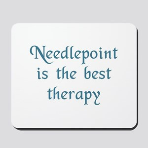 Needlepoint Therapy Mousepad