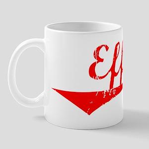 Effie Vintage (Red) Mug