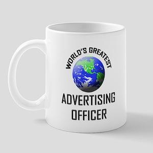 World's Greatest ADVERTISING OFFICER Mug