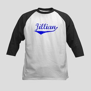 Jillian Vintage (Blue) Kids Baseball Jersey