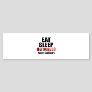Eat Sleep Jeet Kune Do Sticker (Bumper)