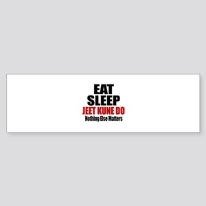 Eat Sleep Jeet Kune Do Sticker (Bumper)