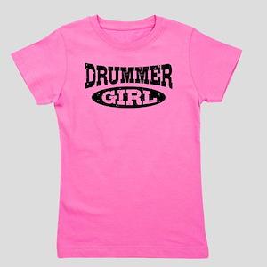 Drummer Girl T-Shirt