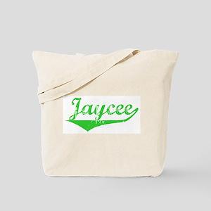 Jaycee Vintage (Green) Tote Bag