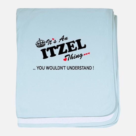 Unique Itzel baby blanket