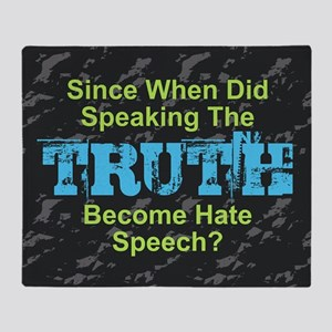 Truth Throw Blanket