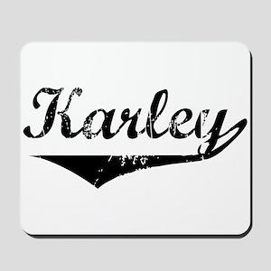 Karley Vintage (Black) Mousepad