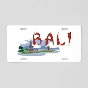 Bali Aluminum License Plate