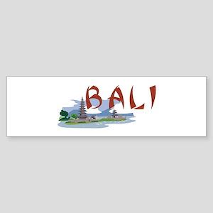 Bali Bumper Sticker
