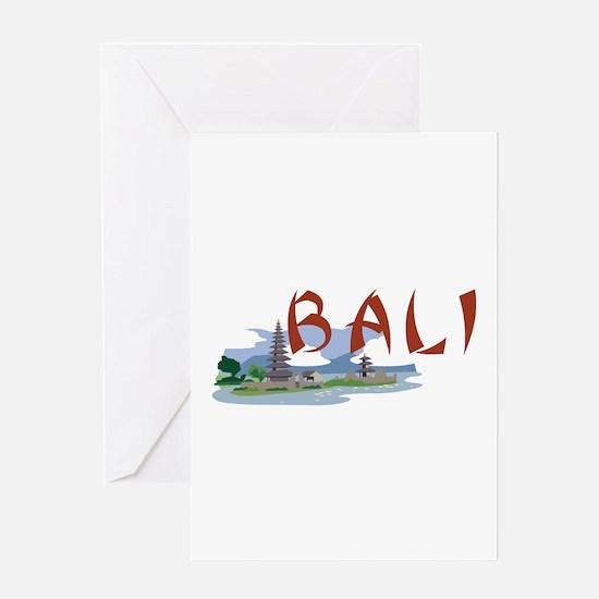 Bali Greeting Cards