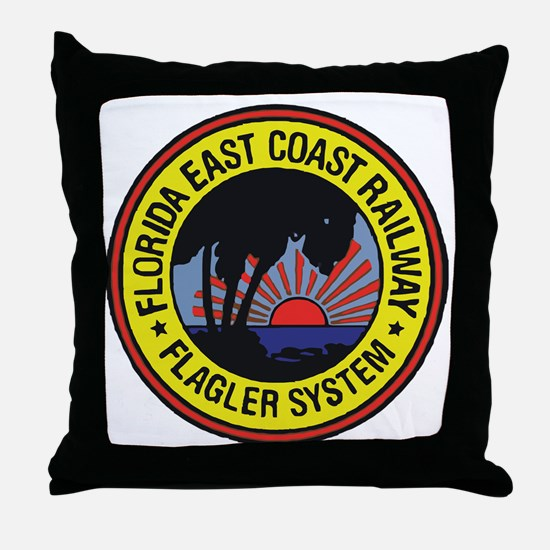 Unique East coast Throw Pillow