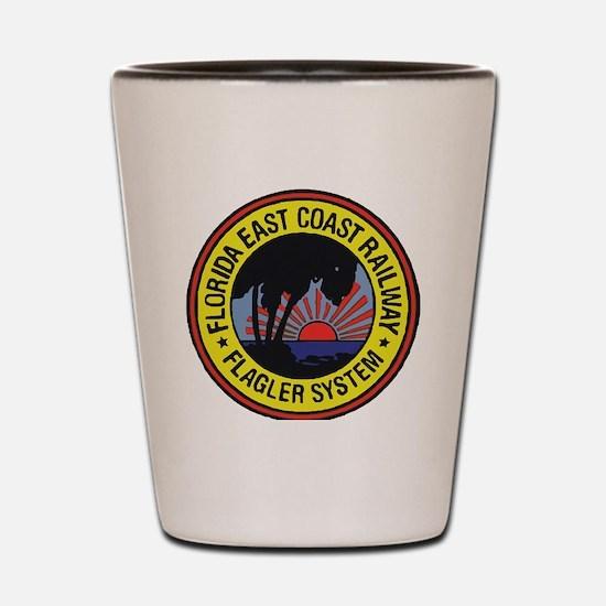 Funny East coast Shot Glass