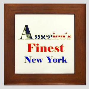 World's Best New York Design. Framed Tile