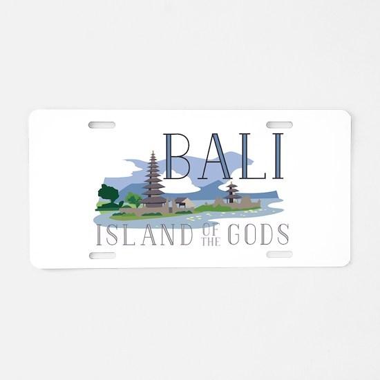 Bali Island Of Gods Aluminum License Plate