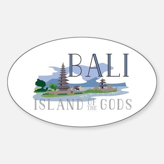 Bali Island Of Gods Decal