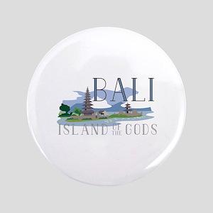 Bali Island Of Gods Button