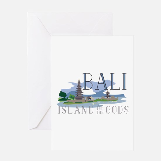 Bali Island Of Gods Greeting Cards