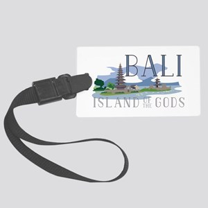 Bali Island Of Gods Luggage Tag