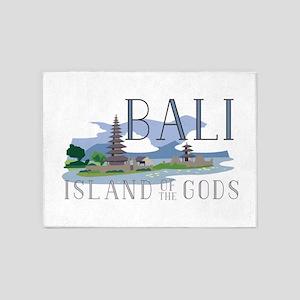 Bali Island Of Gods 5'x7'Area Rug