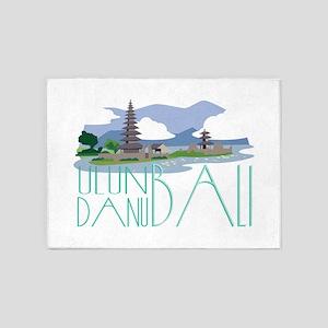 Ulun Danu Bali 5'x7'Area Rug