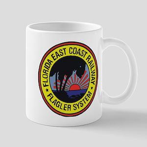 Florida East Coast Railway logo Mugs