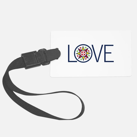 Love Decal Luggage Tag