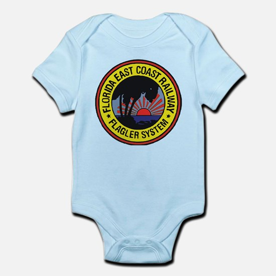 Florida East Coast Railway logo Body Suit
