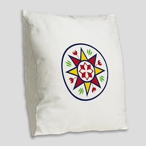 Dutch Sign Burlap Throw Pillow