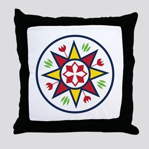 Dutch Sign Throw Pillow