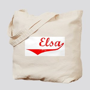 Elsa Vintage (Red) Tote Bag