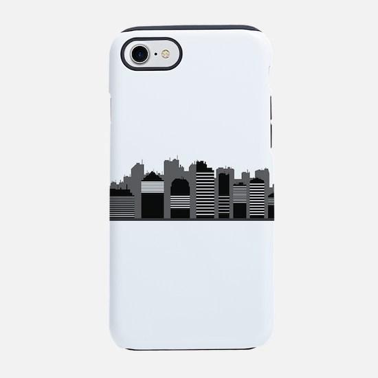 city skyline iPhone 8/7 Tough Case
