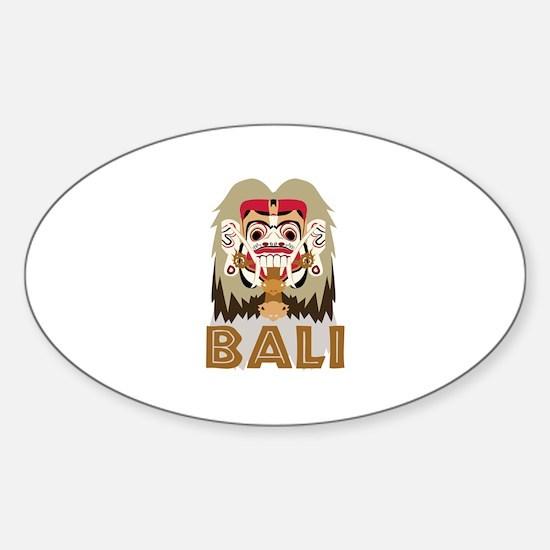 Rangda Bali Decal