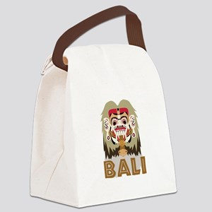 Rangda Bali Canvas Lunch Bag