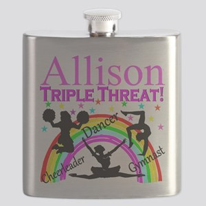 TRIPLE THREAT Flask