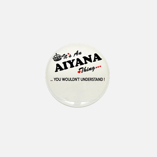 Cute Aiyana Mini Button