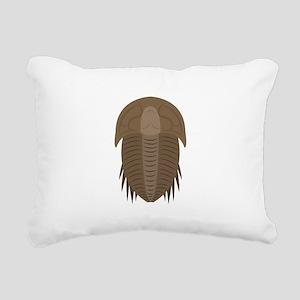 Trilobite Rectangular Canvas Pillow