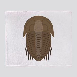 Trilobite Throw Blanket