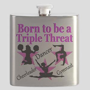 TRIPLE THREAT Flask