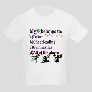 TRIPLE THREAT Kids Light T-Shirt