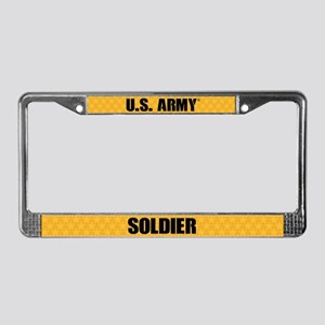 U.s. Army Soldier License Plate Frame