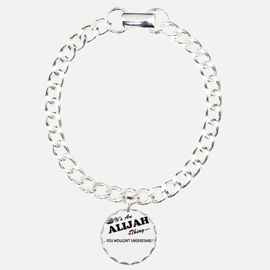 Unique Alijah Charm Bracelet, One Charm