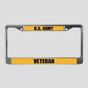 U.s. Army Veteran License Plate Frame