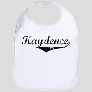Kaydence Vintage (Black) Bib