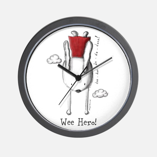 Every Bunny Can Be A Hero! Wall Clock