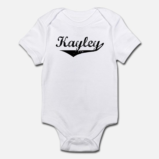 Kayley Vintage (Black) Infant Bodysuit