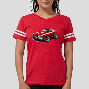 Roadrunner Red-White Car T-Shirt