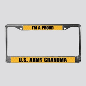 U.s. Army Grandma License Plate Frame