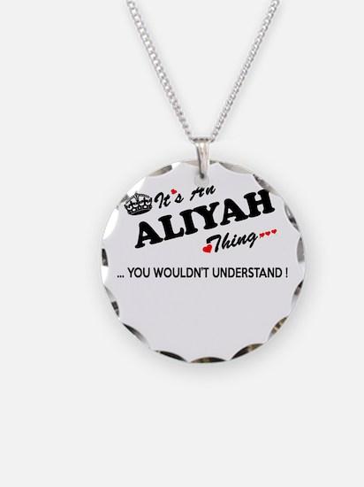 Cute Aliyah Necklace