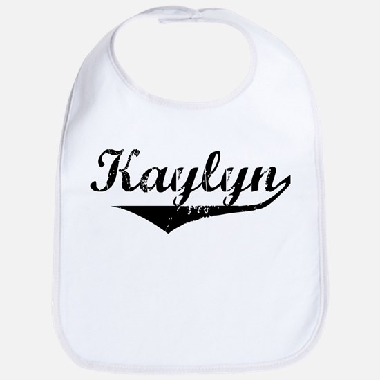 Kaylyn Vintage (Black) Bib